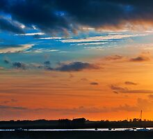 River Alde sunset by timmburgess