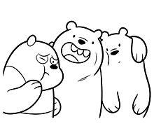 Crazy Bears Photographic Print