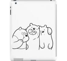 Crazy Bears iPad Case/Skin