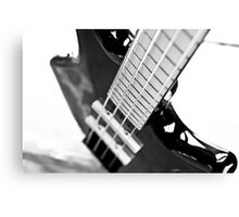 Ibanez Bass Guitar Canvas Print