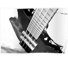 Ibanez Bass Guitar Poster