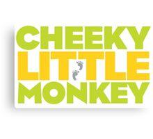 Frasier - Cheeky Little Monkey Canvas Print