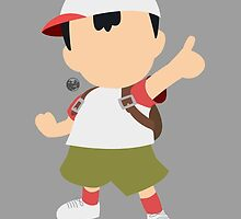 Ness (Fuel) - Super Smash Bros. by samaran