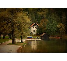 Bled Slovenia Photographic Print