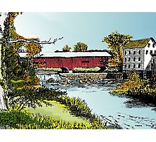 Redman Bridge, Indiana Photographic Print