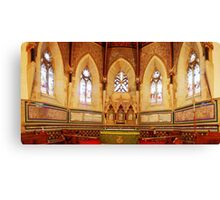 Apsidal Sanctuary, St Mark's Church, Tunbridge Wells Canvas Print