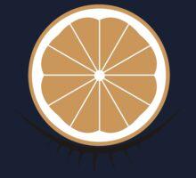 Orange Clockwork One Piece - Short Sleeve