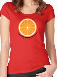 Orange Clockwork Women's Fitted Scoop T-Shirt