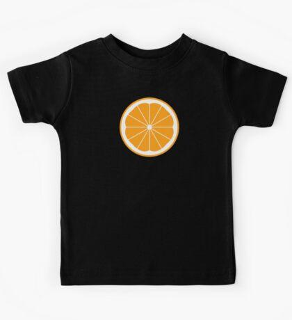 Orange Clockwork Kids Tee