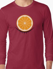 Orange Clockwork Long Sleeve T-Shirt