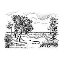 Iniana Dunes, Indiana Photographic Print