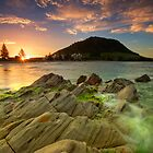 Mount Mauao Gold by Ken Wright
