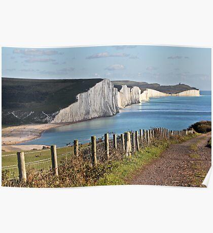 Cuckmere Haven, East Sussex, UK Poster