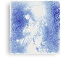The Tarot: XVIII - The Moon Canvas Print