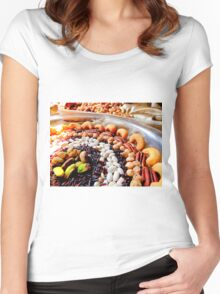 Nuts and Legumes...mmmm Women's Fitted Scoop T-Shirt