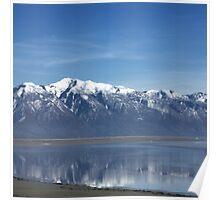 Reflective Granduer of the Great Salt Lake-Utah Poster