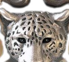 Mayan Jaguar and Snake Sticker