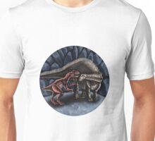 Allosaurus and Diplodocus Unisex T-Shirt