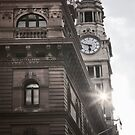 Clock Tower - Martin place by Adriano Carrideo