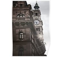 Clock Tower - Martin place Poster