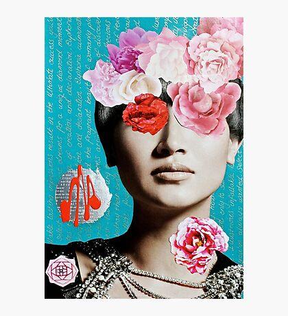 Rose Berry Splash Photographic Print