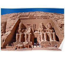 Egypt. Abu Simbel. Poster