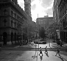 Martin Place Sydney by Adriano Carrideo