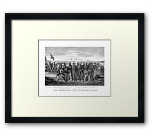 The Generals Of The Confederate Army Framed Print