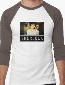 SHERLOCK T-SHIRT Men's Baseball ¾ T-Shirt