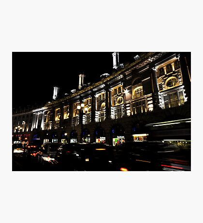 The lights of london Photographic Print