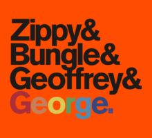 Rainbow - Zippy & Bungle & Geoffrey & George Kids Clothes
