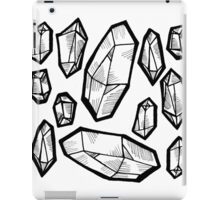 crystals iPad Case/Skin