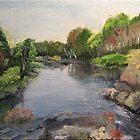 Black River near Actinolite, Ontario by P. Leslie Aldridge