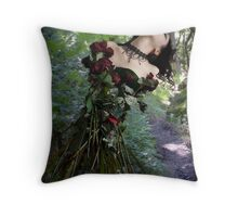 Some flowers never see the light Throw Pillow