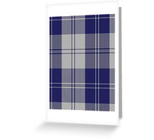 00481 Erskine Blue Dance Tartan  Greeting Card