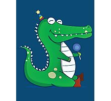 Party Gator Photographic Print