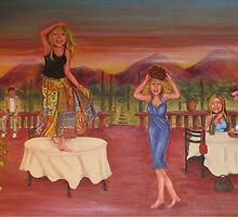Tuscan Cabaret by m catherine doherty