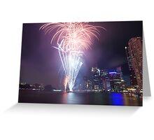 Riverfire in Brisbane | Queensland | Australia Greeting Card