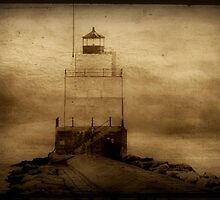 Light of the sea...Manitowac Breakwater Lighthouse © by Dawn M. Becker