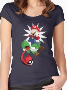 Gotta Eat Them All! Women's Fitted Scoop T-Shirt