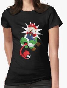Gotta Eat Them All! Womens Fitted T-Shirt