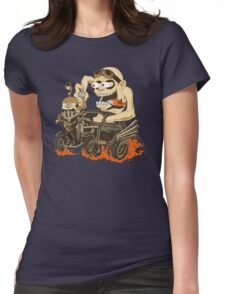 Fury Fink Nux Womens Fitted T-Shirt