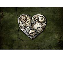 Heartstone Steampunk Photographic Print