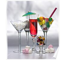 Drinks - Happy Hour Poster