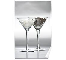 Drinks - Choctail and Mintini Poster