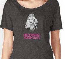 Black & White Glamorous Hedwig Women's Relaxed Fit T-Shirt