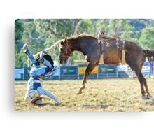 Myrtleford Rodeo 2 Metal Print