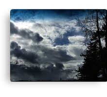 Storm Front Passing Canvas Print