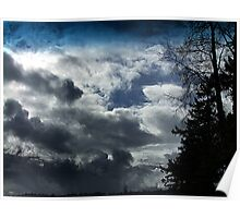 Storm Front Passing Poster