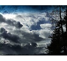 Storm Front Passing Photographic Print